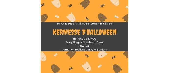 ANIMATION ENFANTS - KERMESSE HALLOWEEN - HYERES